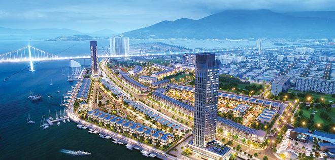Dự án hạng sang ven sông do VN Đà Thành và Đất Xanh Đà Nẵng đang phát triển hứa hẹn tỏa sáng năm 2019.