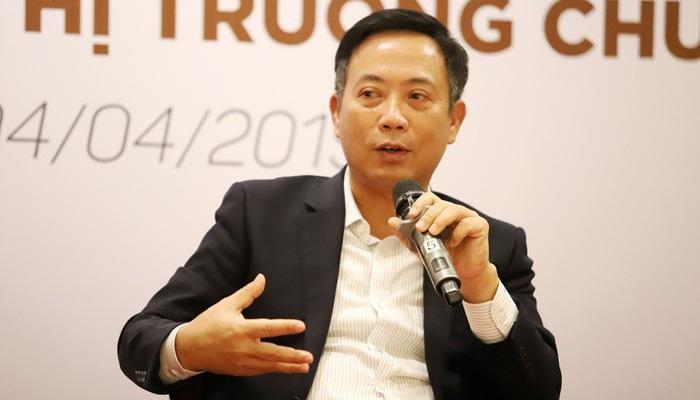 Chủ tịch Uỷ ban Chứng khoán Nhà nước Trần Văn Dũng.