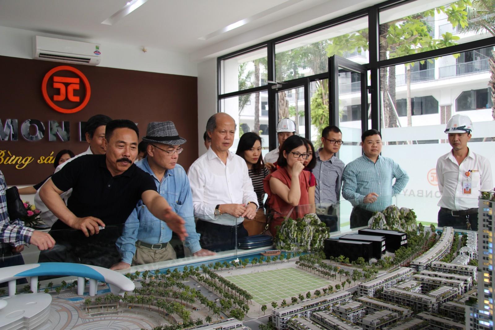 Lãnh đạo Hiệp hội đến thăm và làm việc với Công ty HD Mon