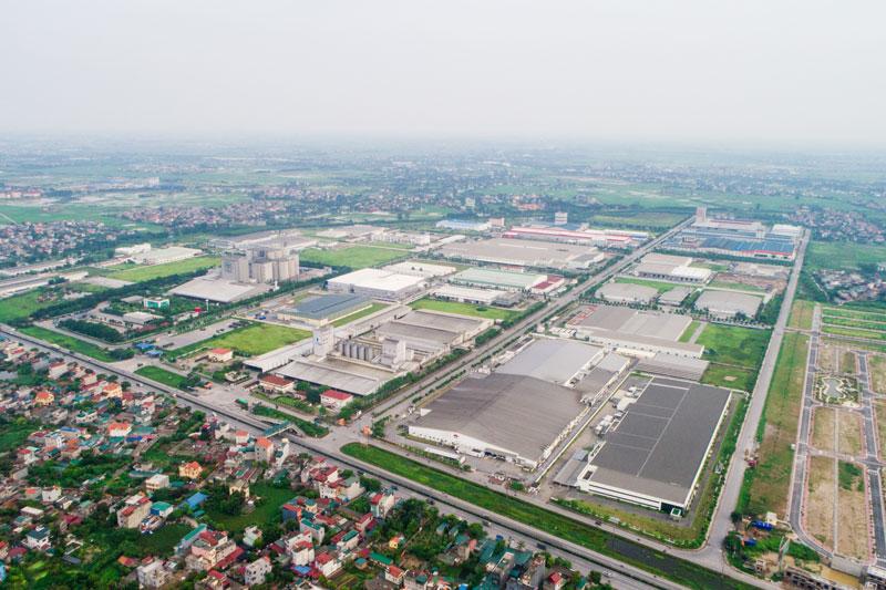 Ảnh 2 – TNI Holdings đang là chủ đầu tư hạ tầng của nhiều KCN trải dài từ Hà Nội, Bắc Ninh, Hưng Yên, Hải Dương, Hà Nam và Thanh Hóa với quy mô trên 2.000 ha đất công nghiệp.