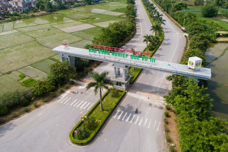Ảnh 2 –Ðể các KCN phát triển đúng hướng, hiệu quả, cần nhiều giải pháp cụ thể. (Nguồn ảnh: KCN Quế Võ III – TNI Holdings)