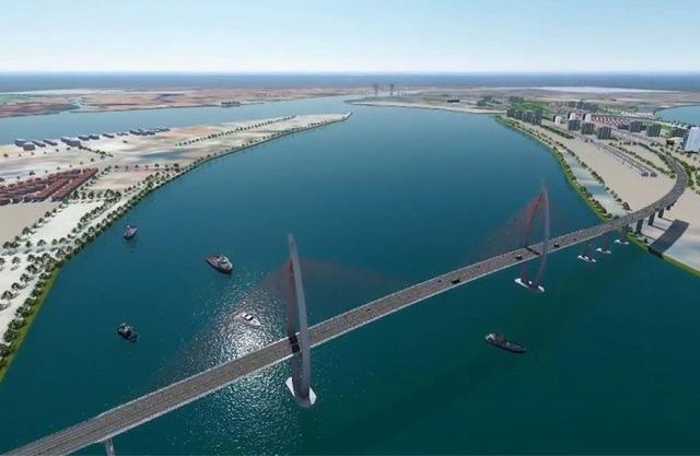 Xây cầu 5.300 tỷ đồng nối Bình Khánh với Cần Giờ, hàng vạn người dân khu vực sẽ hưởng lợi - Ảnh 1.