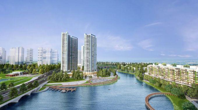 Phối cảnh dự án Aqua Bay