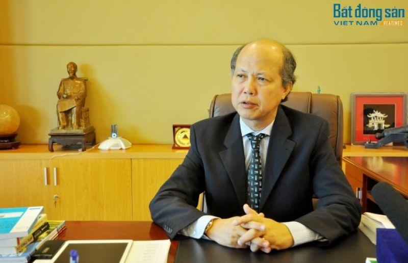 Chủ tịch Hiệp hội BĐS Việt Nam Nguyễn Trần Nam.