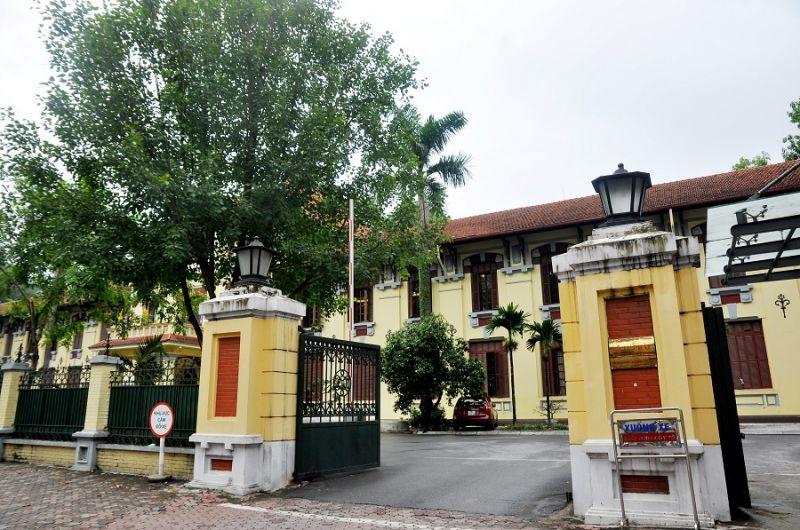 Trụ sở Bộ Tư pháp trên đường Trần Phú, Hà Nội.