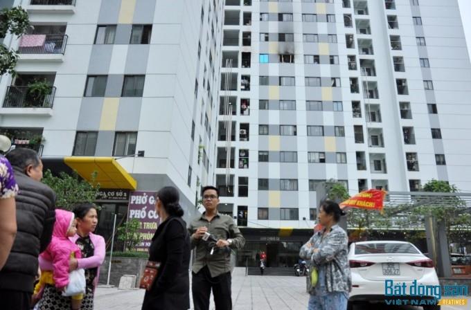 Cư dân tại chung cư Rainbow vẫn còn thấy hoang mang sau vụ hỏa hoạn.