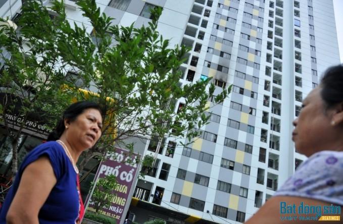 Nhiều cư dân tại chung cư Rainbow khẳng định, họ không nghe thấy chuông báo cháy khi hỏa hoạn xảy ra.