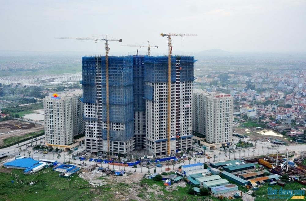 BĐS phía Tây Hà Nội đang có nhiều dự án được triển khai. .