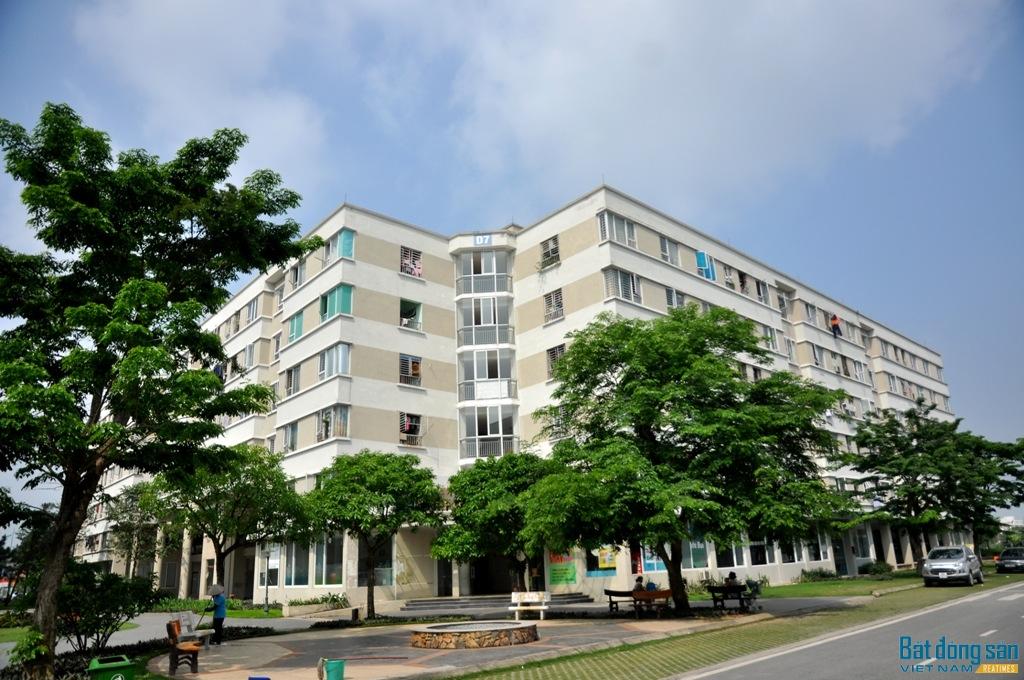 An cư tại khu nhà ở xã hội Xanh của Thủ đô