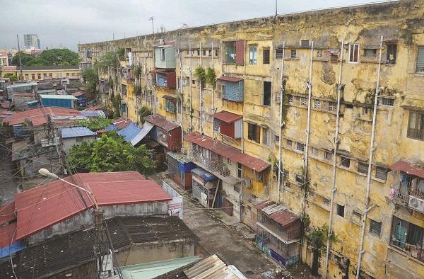 Cải tạo chung cư VM1 thành phố Hải Phòng theo hình BT