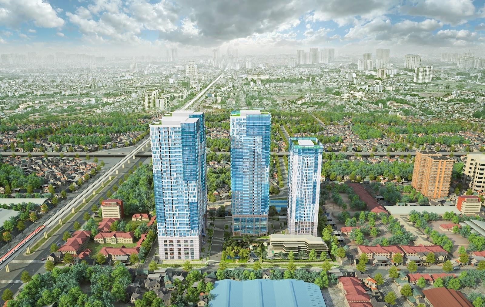 5 dự án chung cư có tiến độ tốt trên địa bàn quận Thanh Xuân
