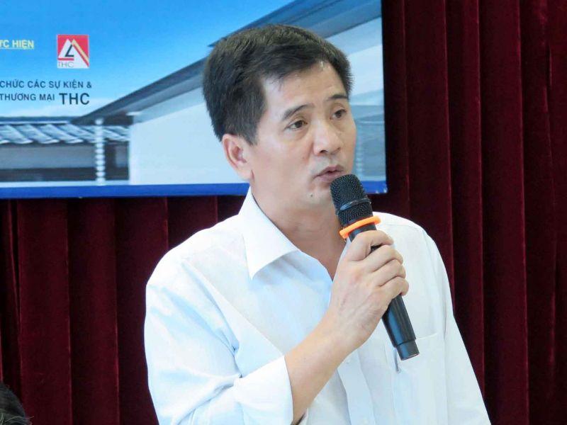 Ông Nguyễn Văn Đính, PCT Hội Môi giới BĐS Việt Nam