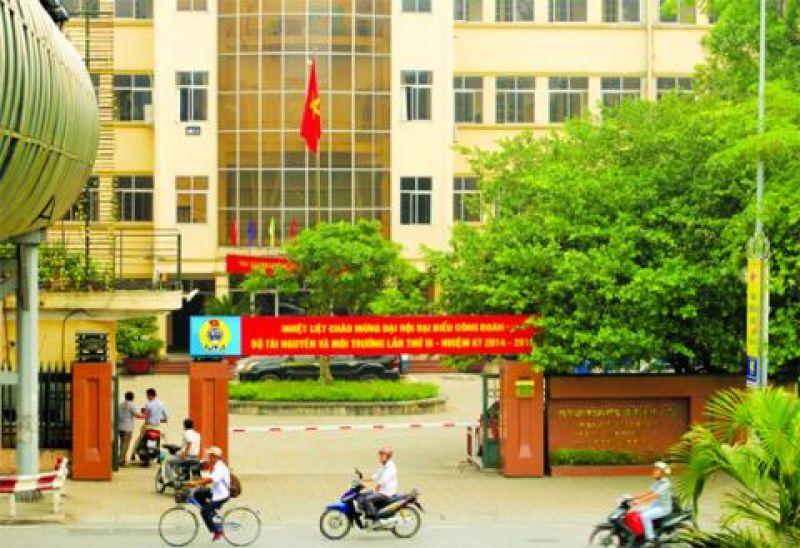 Trụ sở cũ Bộ TN-MT số 83 Nguyễn Chí Thanh