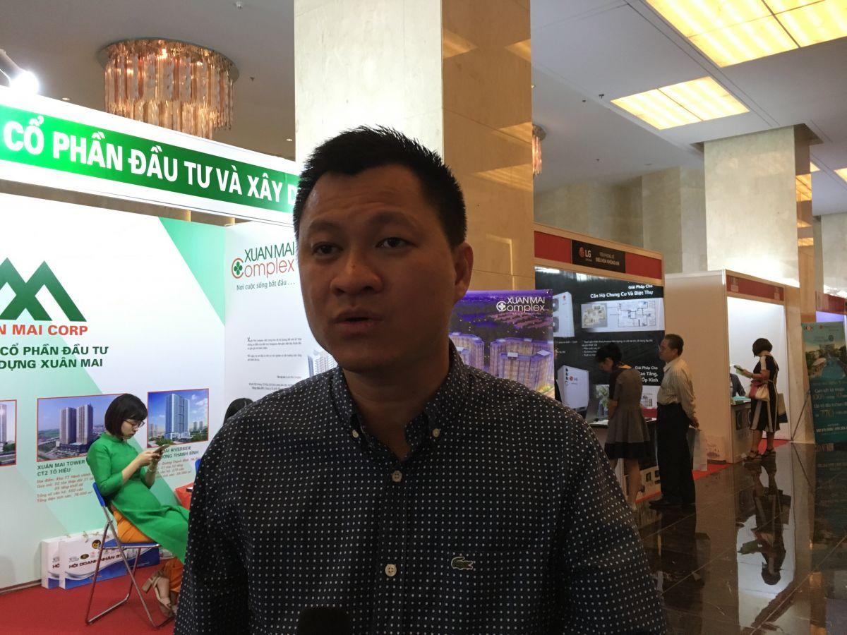 Ông Trần Đình Quý, Chủ tịch Hôi môi giới bất động sản Khánh Hòa.