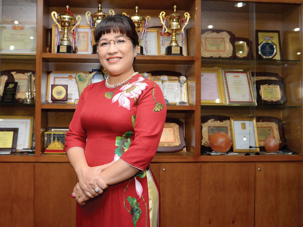 Bà Lưu Thị Thanh Mẫu.