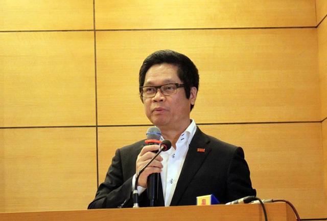 Chủ tịch VCCI Vũ Tiến Lộc nói, cộng đồng doanh nghiệp vẫn còn kêu ca về nhiều khó khăn trong lĩnh vực xây dựng. Ảnh: CHÂN LUẬN