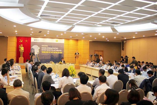 Hội nghị thu hút rất nhiều Hiệp hội, Tập đoàn, doanh nghiệp, chuyên gia tham dự vì đây là một lĩnh vực thiết yếu. Ảnh: Chân Luận.