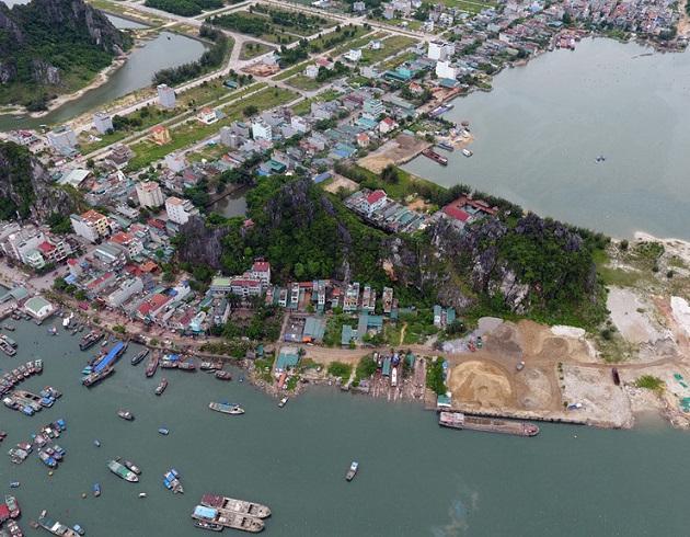 Việc quy hoạch trở thành đặc khu đã khiến giá đất tại Vân Đồn tăng mạnh so với trước.