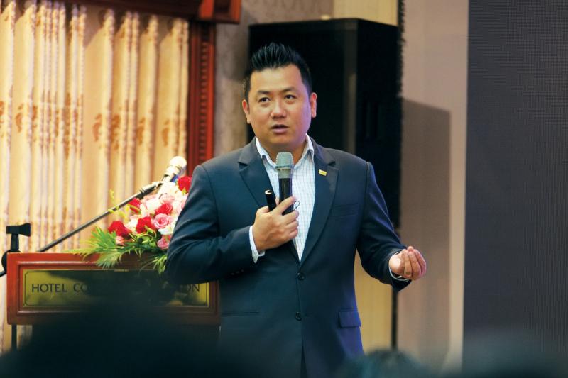 Ông Phạm Lâm, Tổng Giám đốc DKRA Việt Nam.