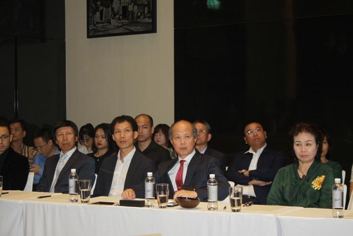 Đại diện Hiệp hội Bất động sản Việt Nam tham dự Lễ ký kết thỏa thuận hợp tác với LG.