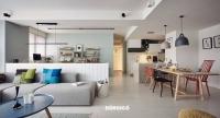 Mẫu nội thất phòng khách đẹp và đầy cảm hứng theo phong cách Bắc Âu