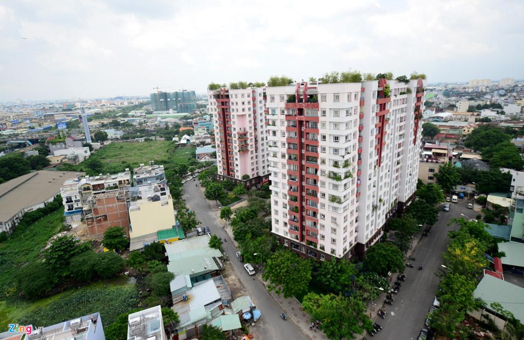 Cụm chung cư Thái An gồm các tòa nhà Thái An 1,2,3,4, tọa lạc trên đường Nguyễn Văn Quá, phường Đồng Hưng Thuận, quận 12, TP.HCM do Công ty TNHH Địa ốc Đất Lành làm chủ đầu tư.