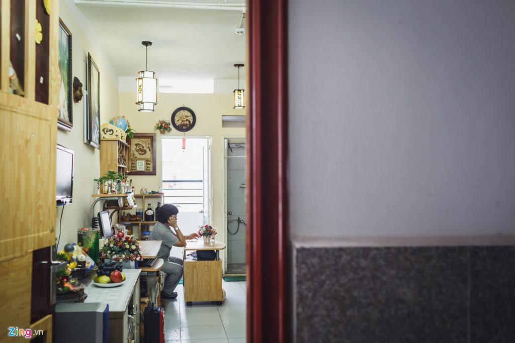 Là người độc thân, bà Diệu cảm nhận rằng cuộc sống tại căn hộ này khá tuyệt vời với không khí trong lành, mát mẻ, an ninh và yên tĩnh.