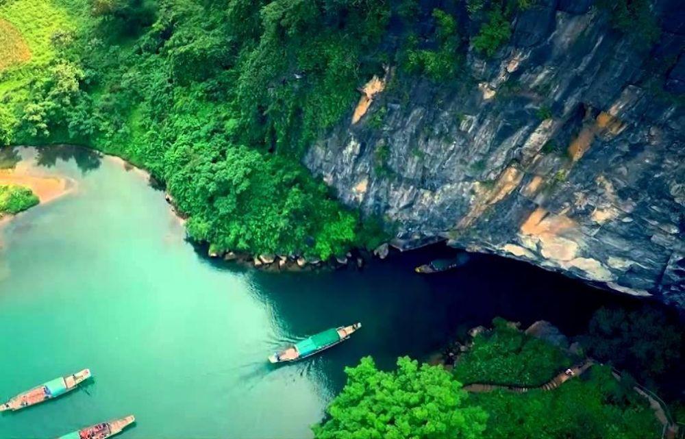 Phong Nha- Kẻ Bàng với nét đẹp nguyên sơ, kỳ vĩ . Nguồn ảnh: Internet