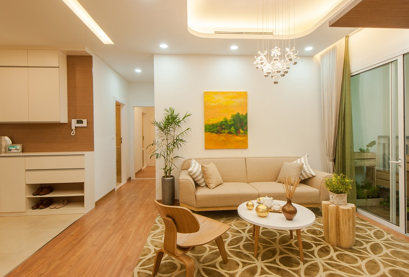 Thiết kế độc đáo mang lại không gian thoáng rộng cho căn hộ Anland. Đơn vị phân phối chính thức: AnPhatLand: 0901.41.15.55; MaxLand: 0939.66.01.01; An Cư: 0965.85.56.85