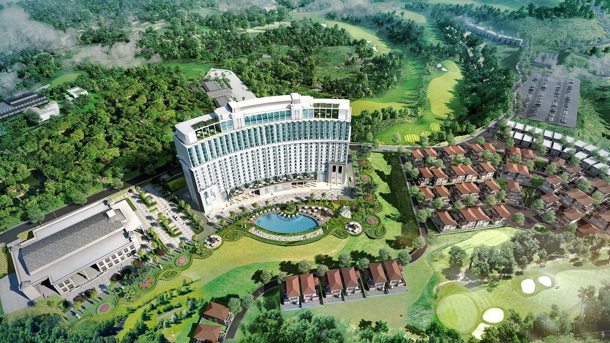 Ảnh 1: Quần thể FLC Ha Long Bay Golf Club & Luxury Resort