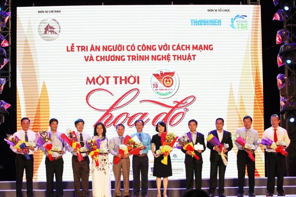 """Tham gia chương trình """"Khát vọng trẻ"""" lần thứ 11 tại Quảng Nam và tri ân các Mẹ Việt Nam Anh Hùng"""