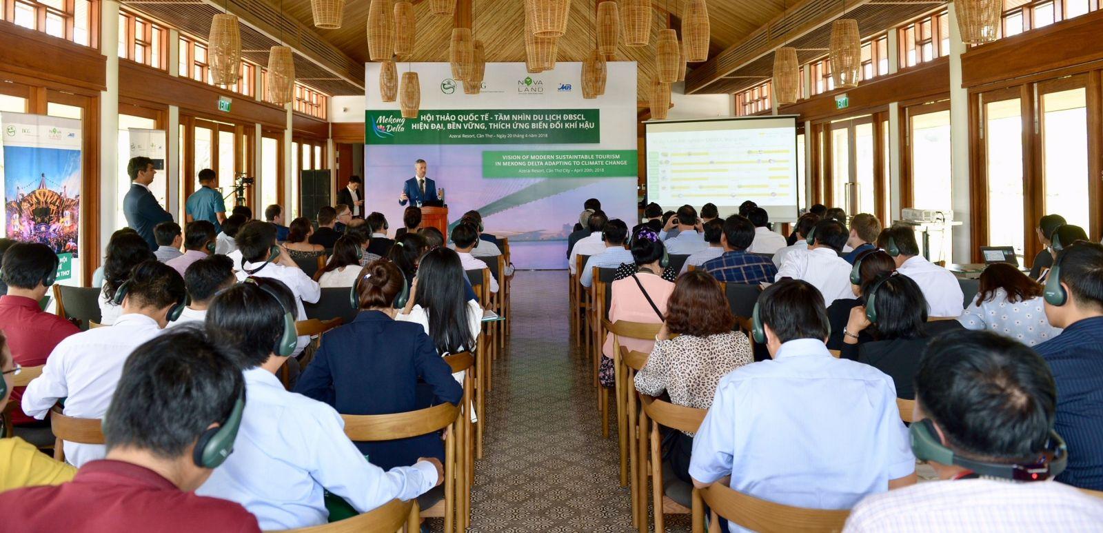 """Hội thảo quốc tế """"Tầm nhìn hiện đại về Du lịch ĐBSCL bền vững thích ứng biến đổi khí hậu với Cần Thơ là trung tâm"""""""