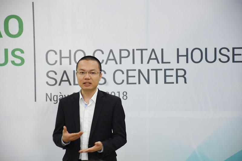 Ông Trịnh Tùng Bách: EDGE chính thức thể hiện sự cam kết của chủ đầu tư trong việc thực hiện các tiêu chí xanh