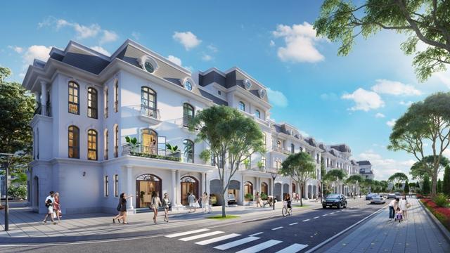 Nhà liền kề tại phân khu Hoa Hồng - Vinhomes Star City có diện tích từ 72 – 233,5m2, phù hợp cho cả mục đích sinh sống lẫn đầu tư kinh doanh (hình ảnh minh họa)