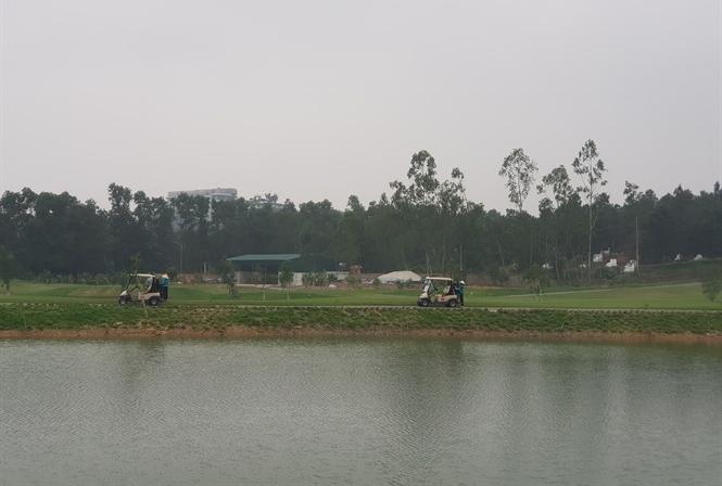 Khu vực 9 hố golf vi phạm của Công ty cổ phần Sân golf Đại Lải