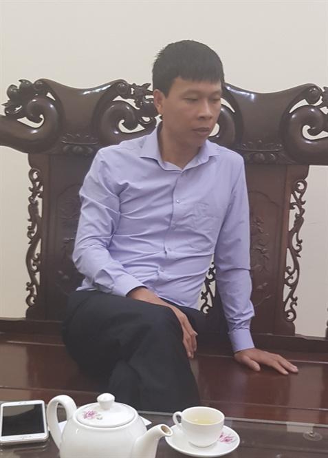 Ông Lưu Tiến Chung – Phó Chủ tịch UBND xã Ngọc Thanh khẳng định: Việc chủ đầu tư thực hiện 9 hố golf mới là chưa đúng với quy hoạch được duyệt do vướng mắc trong quá trình giải phóng mặt bằng