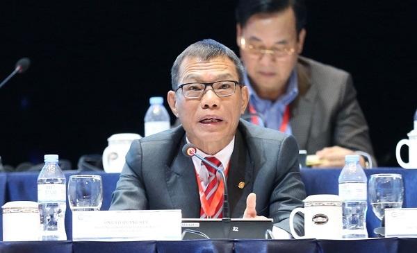 Phó Tổng giám đốc Tập đoàn Vingroup đưa ra Hiến kế từ kinh nghiệm vận hành tập đoàn. Nguồn ảnh: Vnexpress