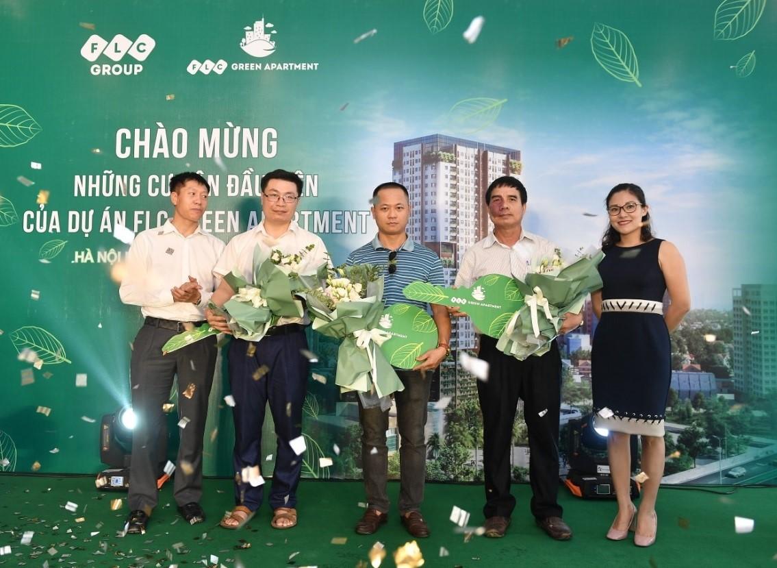 """Sự kiện """"Chào mừng những cư dân đầu tiên của dự án FLC Green Apartment"""" diễn ra thành công và nhận được sự hài lòng của đông đảo khách hàng"""
