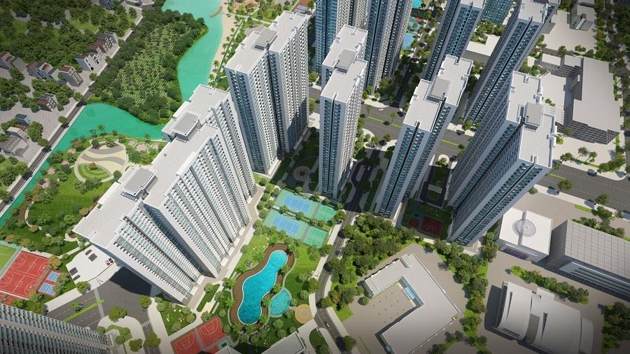 Đại đô thị thông minh Vinhomes Smart City với đầy đủ các tiêu về an ninh, vận hành, cộng đồng, căn hộ thông minh đang dần hình thành (Ảnh minh họa)