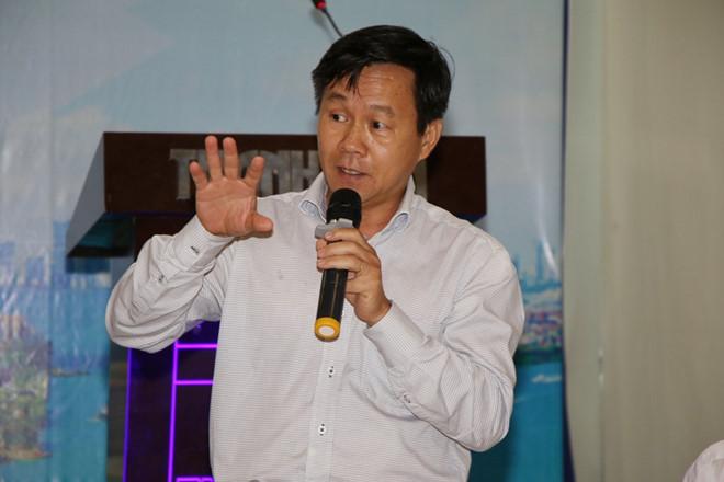 Ông Trần Đình Cường - Phó giám đốc Ngân hàng Nhà nước chi nhánh TP.HCM KHẢ HÒA