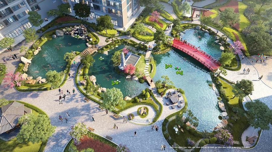 """Ra mắt căn hộ Vinhomes Ruby tại """"thành phố biển hồ"""" Vinhomes Ocean Park"""