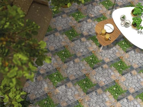 Không gian sân vườn thường xuyên chịu ảnh hưởng từ thời tiết, dễ bám bẩn, hình thành rêu trên bề mặt gạch. Do vậy, bạn nên chọn những loại gạch lát có bề mặt dễ dàng vệ sinh, và chống trơn trượt khi trời mưa.