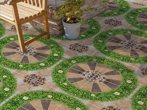 Những gia đình sở hữu một khoảng sân vườn nhỏ nên lựa chọn gạch lát, có thể thiết kế khu sân vườn trở thành không gian gặp gỡ, đón tiếp bạn bè hay đơn thuần là nơi để gia đình quây quần bên nhau.