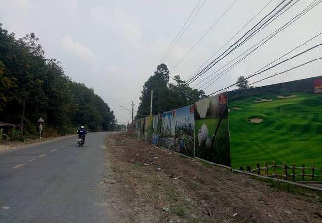 Dự án nằm ngay trục đường chính của trung tâm Hành chính huyện Bàu Bàng.