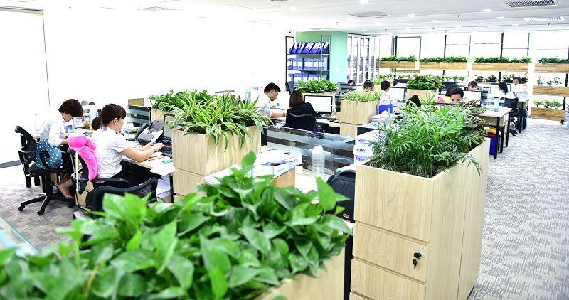 Nhân tố xanh tạo nên sự khác biệt cho cho cao ốc văn phòng hiện đại