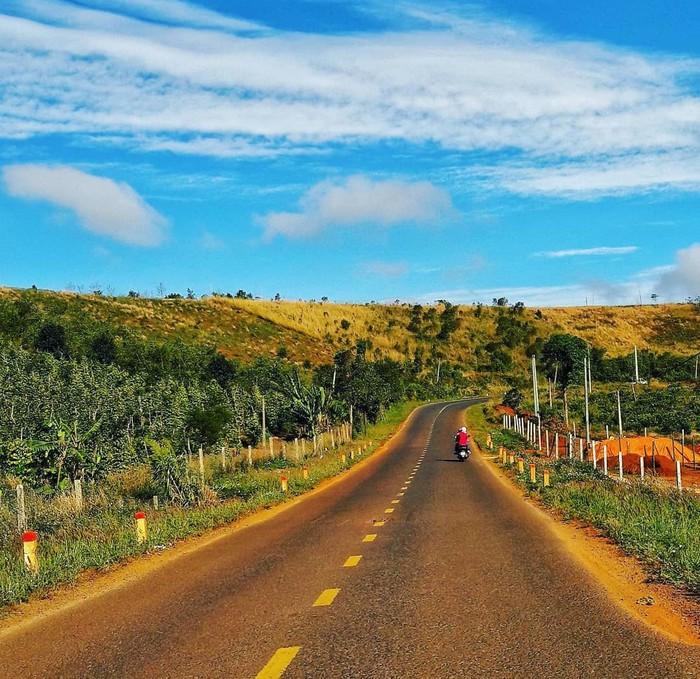 Một con đường ở Đắk Nông