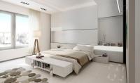 11 mẫu nội thất phòng ngủ đẹp với tông màu trắng tinh khôi và trang nhã