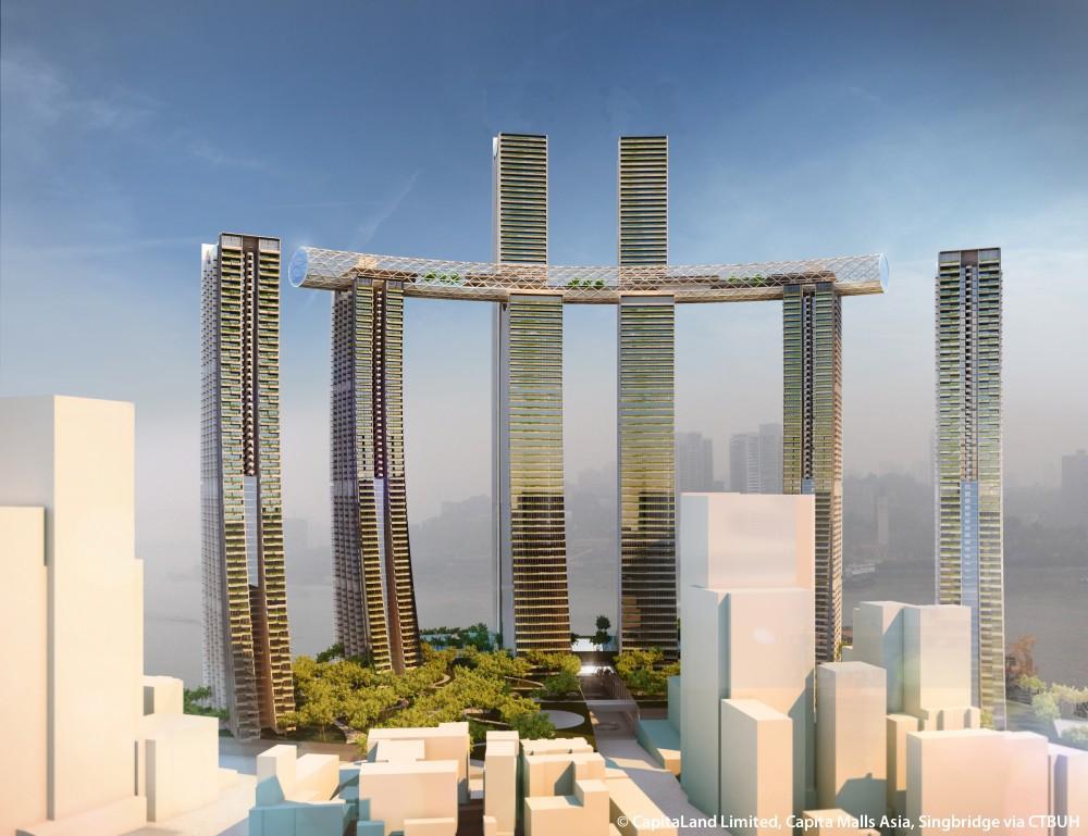Tòa tháp chọc trời nằm ngang, dài nhất thế giới ở Trung Quốc