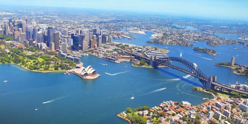 Quang cảnh Sydney từ trên cao