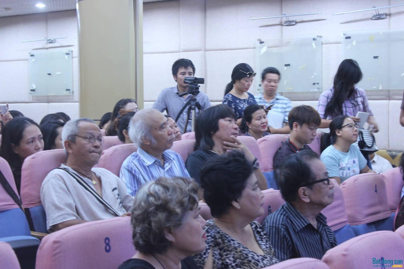 Nhiều nghệ sỹ gạo cội tham gia buổi gặp mặt